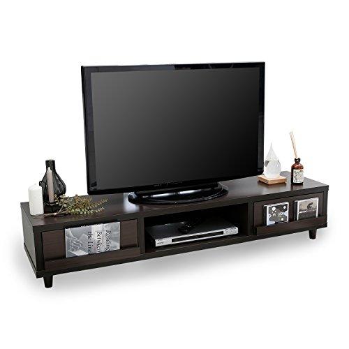 LOWYA (ロウヤ) テレビ台 テレビボード 木製 ディスプレイ収納 ~50型 幅150cm 【t...