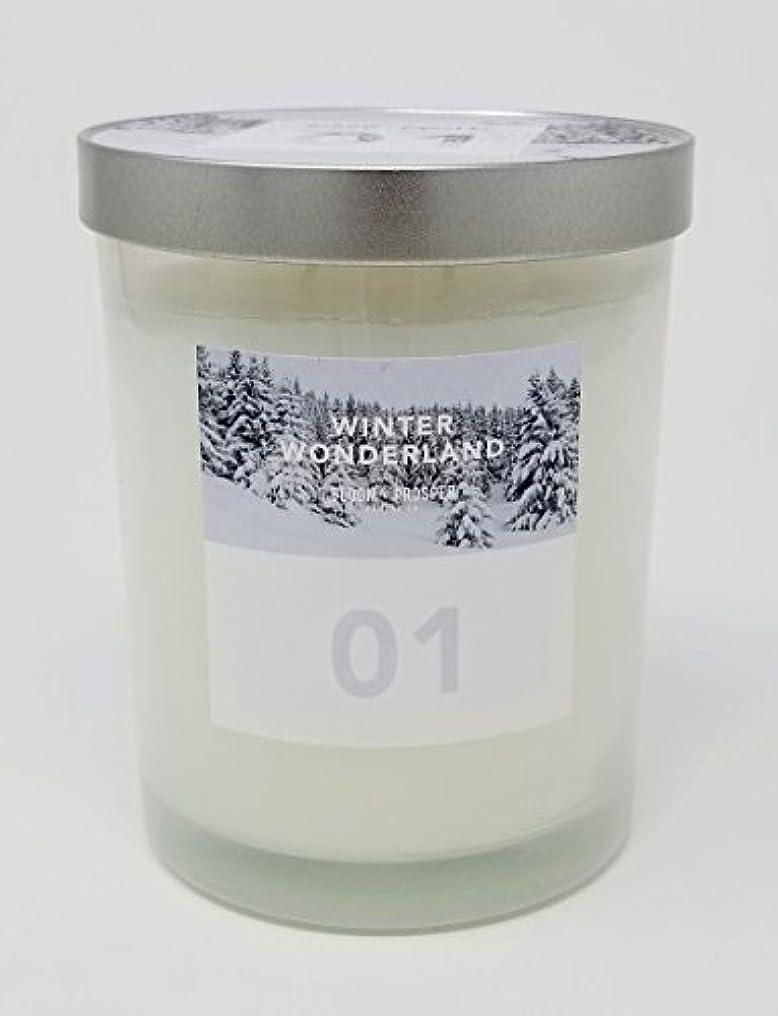 ジャニス肥料裸Bloom & Prosper no 1 Scented Candle – Winter Wonderland – 14.535 Oz