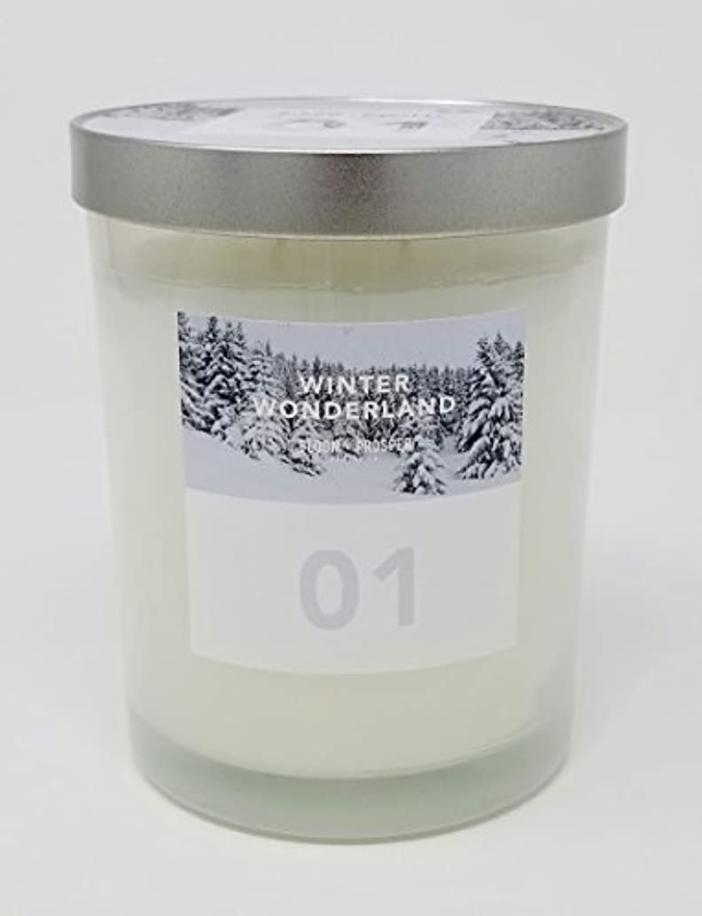 無声でスロット彫刻Bloom & Prosper no 1 Scented Candle – Winter Wonderland – 14.535 Oz