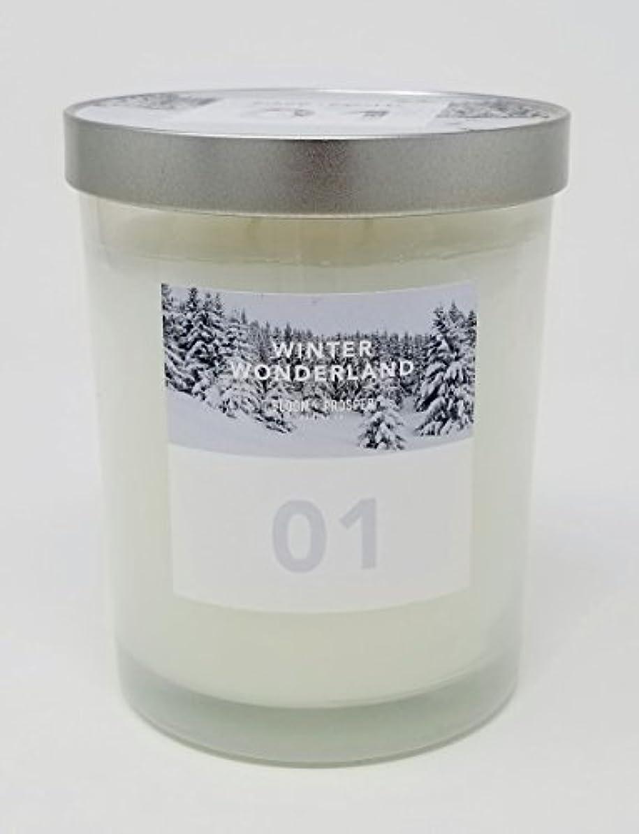 空ディスコ補充Bloom & Prosper no 1 Scented Candle – Winter Wonderland – 14.535 Oz