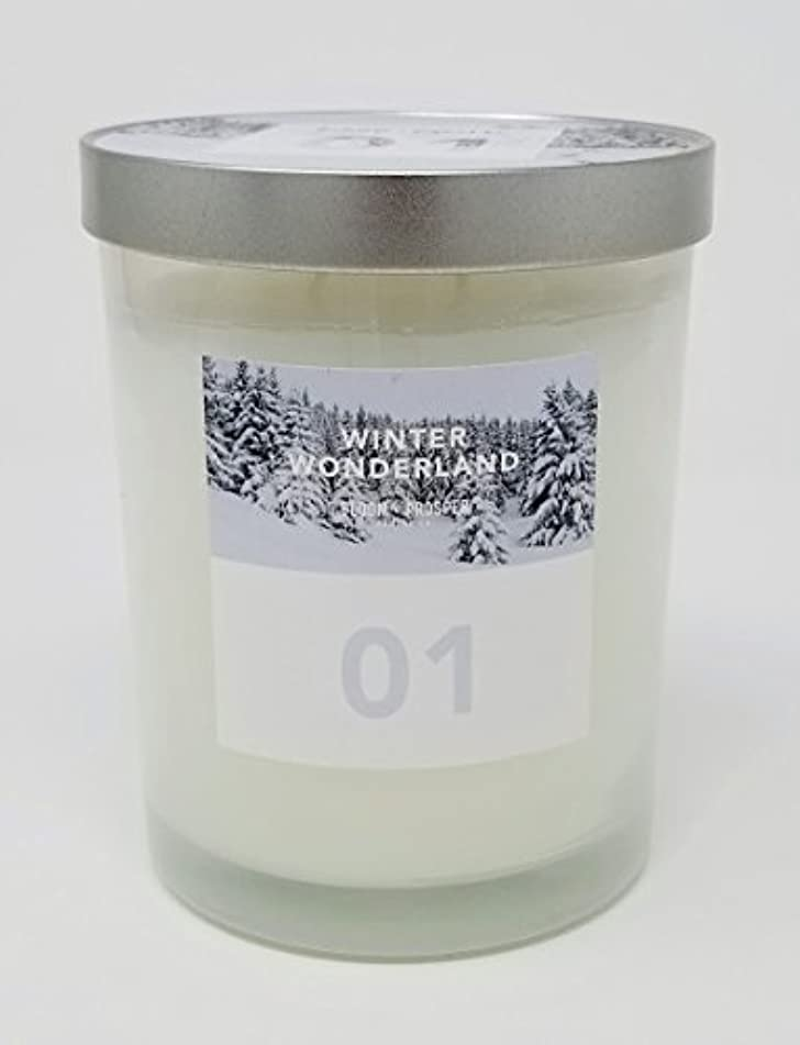 スマート宇宙船青Bloom & Prosper no 1 Scented Candle – Winter Wonderland – 14.535 Oz