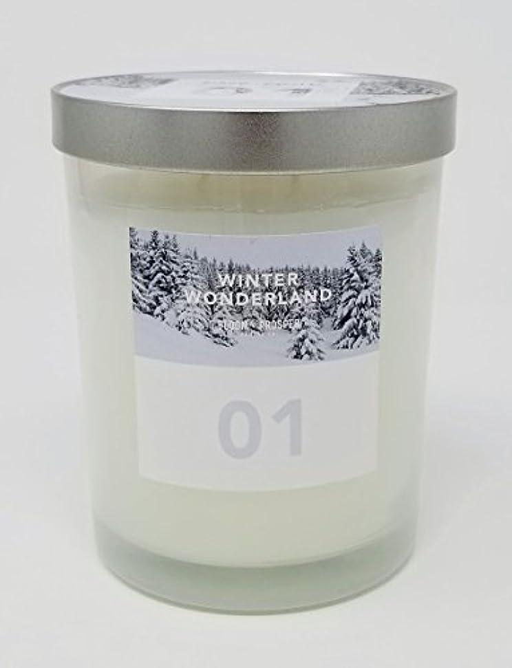 楽しませる借りるアジア人Bloom & Prosper no 1 Scented Candle – Winter Wonderland – 14.535 Oz