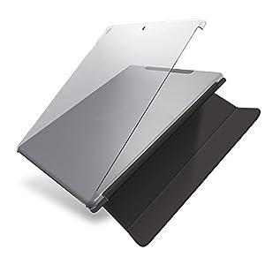 エレコム 2017年新型 iPad Pro 12.9 / 2015年発売 iPad pro 12.9 シェルカバー スマートカバー対応 クリア TB-A17LPV2CR