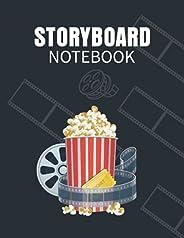 Storyboard Notebook: Storyboard Template Storytelling Frames Layouts Notebook