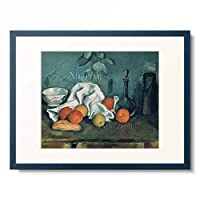 ポール・セザンヌ Paul Cézanne 「Still life with fruit. 1879/1880.」 額装アート作品