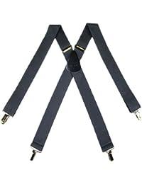 グレーMade in the USAメンズサスペンダーby the-perfect-necktie