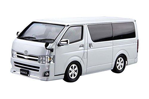 青島文化教材社 1/24 ザ・モデルカー トヨタ TRH200V ハイエーススーパーGL '10 プラモデル