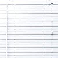 プラスチック ブラインド 【幅66cm×高さ30cm】 ホワイト/幅61~80cm×高さ30~100cm から選べる