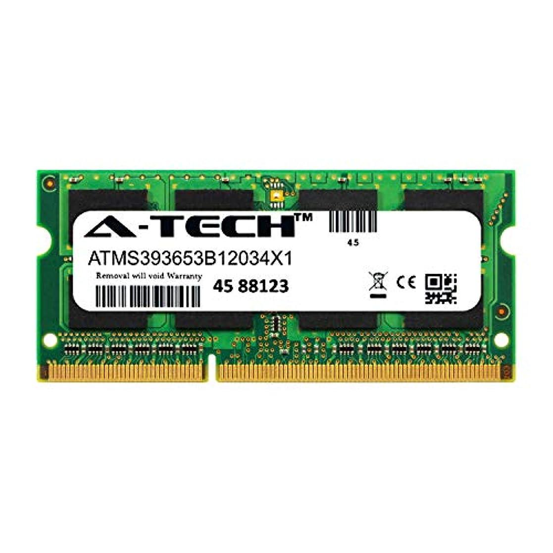 削除する算術束A-Tech 4GB モジュール ASUS U52F ノートパソコン & ノートブック 互換 DDR3/DDR3L PC3-12800 1600Mhz メモリ ラム (ATMS393653B12034X1)