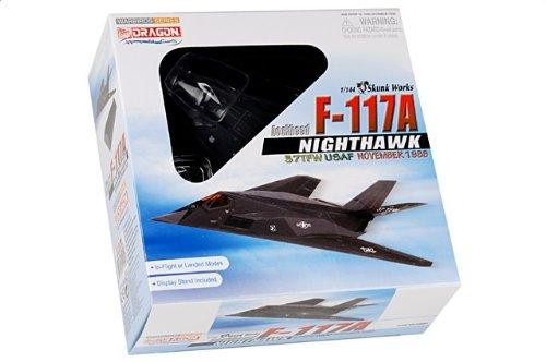 1:144 ドラゴンモデルズ 戦闘機 51051 ロックヒード F-117A ナイトホーク ディスプレイ モデル USAF 37th TFW 415th TFS Nightstalkers Novem