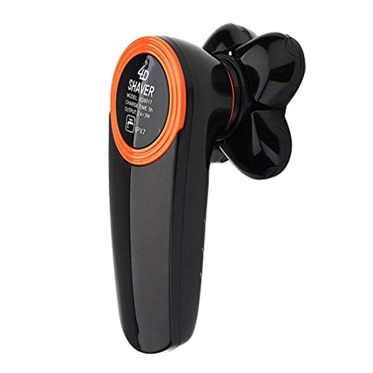 彼の関係ないペフ剃っ機械五ヘッド電気シェーバー充電式防水セルフケア光学ヘッドシェービングナイフ