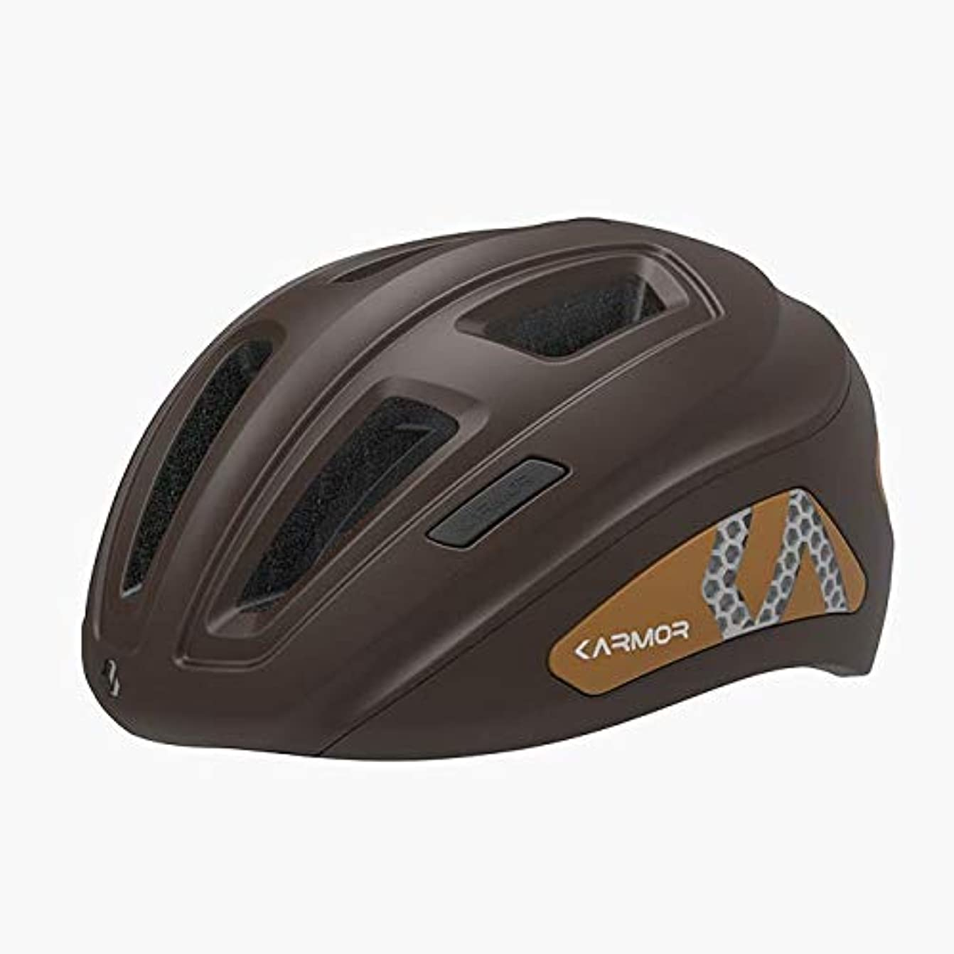 サークル請願者にやにやKARMOR(カーマー) PRENDA(プレンダ) アーバン ヘルメット アジアンフィット オータムブラウン