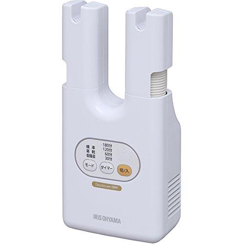 アイリスオーヤマ くつ乾燥機 ダブルノズル SD-C1-WP