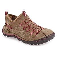JAMBU (ジャンブー) レディース シューズ・靴 スニーカー 'Spirit' Sneaker Sangria Faux Leather サイズ6-M(Medium) [並行輸入品]