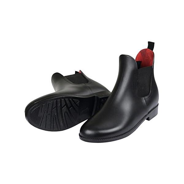 ラバー ショートブーツの商品画像