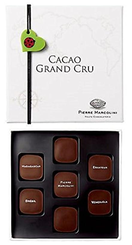 アプトベストブレスピエールマルコリーニ チョコレート バレンタイン カカオ グランクリュ 7個入