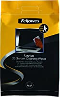 Fellowes 25 Laptop Screen Cleaning Wipes