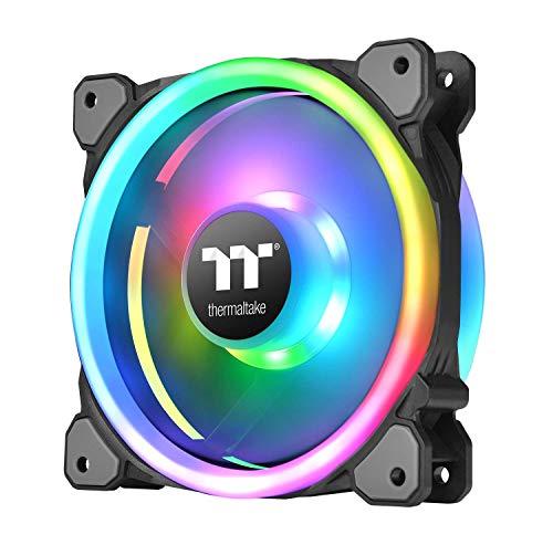 Thermaltake Riing Trio 14 RGB TT 60.68 CFM 140 mm Fans 3-Pack