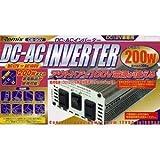 CB-90V インバーター 200W(最大300W) (DC12V専用) 5523y
