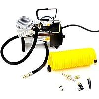 AC 100V 電源 家庭用 電動エアーポンプ エアポンプ 空気入れ ポンプ エアーコンプレッサー 多用途 100PSI (3種ノズル/エアホース(3m)付属)
