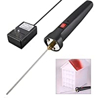 GOCHANGE 10CM 発泡 スチロール カッター ペン式 カッター ホットナイフ100-240V/15W 交流電源 と 電子変圧器付き
