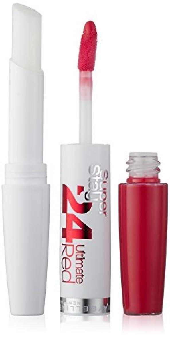 控えめなイディオム解体するMaybelline SuperStay24H Dual Ended Lipstick 480 Tangerine Pop 9ml by Maybelline