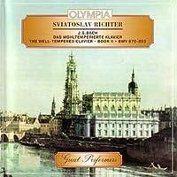 Bach - The Well-tempered Clavier Book Ii - Sviatoslav Richter (2 Cd Set)