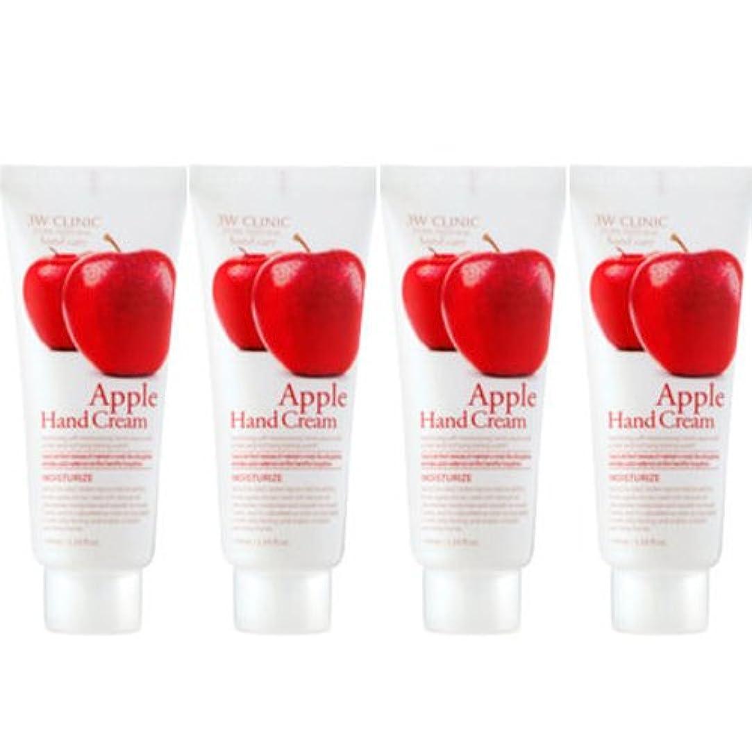 感染する健康略奪3w Clinic[韓国コスメARRAHAN]Moisturizing Apple Hand Cream モイスチャーリングリンゴハンドクリーム100mlX4個 [並行輸入品]