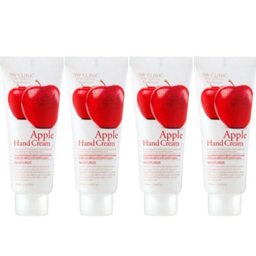 正規化セーブ彼女3w Clinic[韓国コスメARRAHAN]Moisturizing Apple Hand Cream モイスチャーリングリンゴハンドクリーム100mlX4個 [並行輸入品]