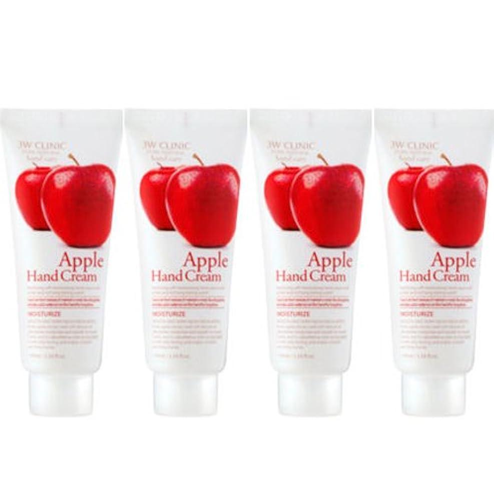 論理的にトレーダー哲学3w Clinic[韓国コスメARRAHAN]Moisturizing Apple Hand Cream モイスチャーリングリンゴハンドクリーム100mlX4個 [並行輸入品]