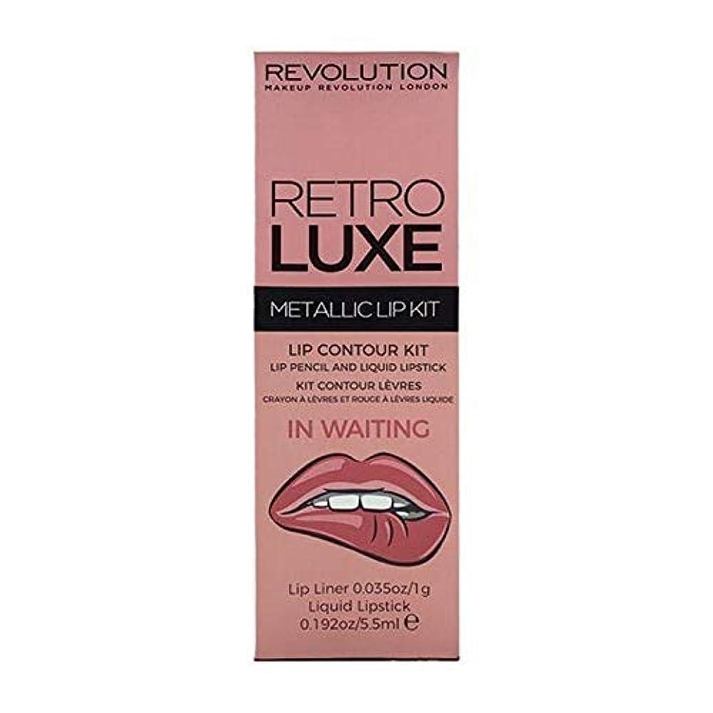スクラッチ練習した追加する[Revolution ] 待っているの革命レトロデラックスキットメタリック - Revolution Retro Luxe Kits Metallic In Waiting [並行輸入品]