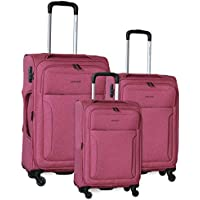 Pierre Cardin Soft Luggage Case - SET OF 3 (PC2823)