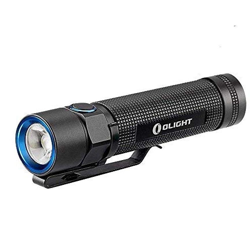 中断接辞種をまくOlight S2 Baton 小型軽量LED フラッシュライト最大950ルーメンCree XM-L2/U3 LED LED搭載 防水IPX8 5段階切替 LED懐中電灯 ハンディライト電池1 x 18650 or 2 x CR123A 電池別売