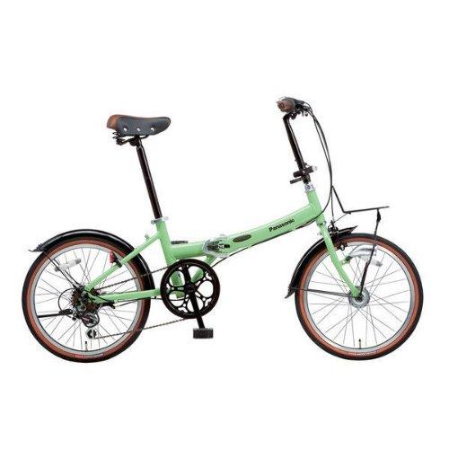Panasonic(パナソニック) ビーンズハウス 20インチ G:BRコットングリーン B-BH063B-G 折りたたみ自転車