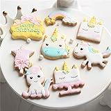 クッキー型 クリスマス 8種セット ユニコーンクッキーカッター 製菓グッズ お菓子作り