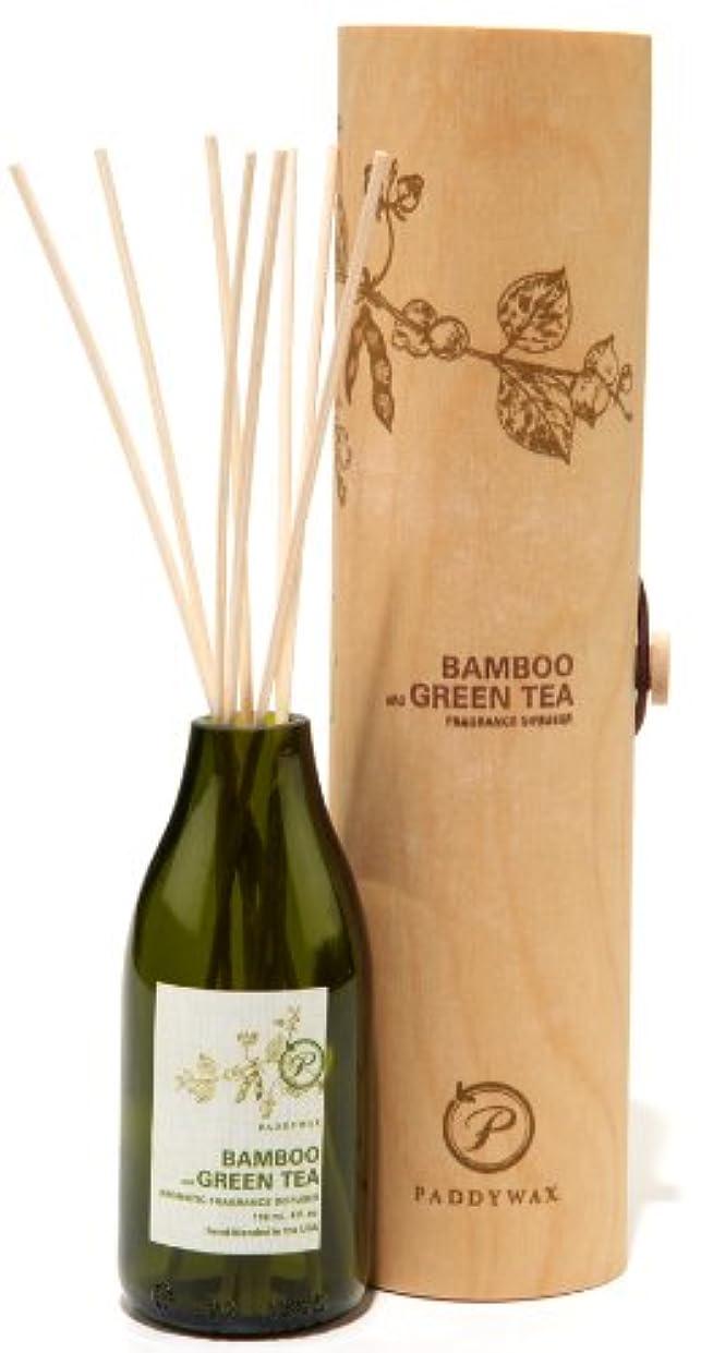 抽選賢明なマーカーパディワックス(PADDYWAX) エコ?グリーン リード ディフューザー(ECO GREEN Reed Diffuser) バンブー & グリーンティー(BAMBOO and GREEN TEA)