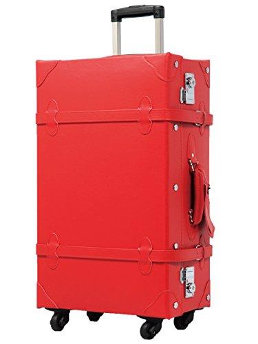 [グリフィンランド]_Griffinland TSAロック搭載 スーツケース おしゃれ 超軽量 かわいい トランクケース ショコラ 【アンティーク調】