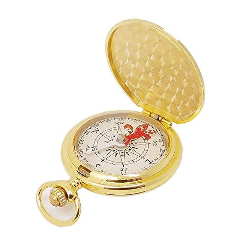 発揮する本甘美なLVESHOP 金属フリップコンパス屋外のコンパス、懐中時計の銅のコンパス