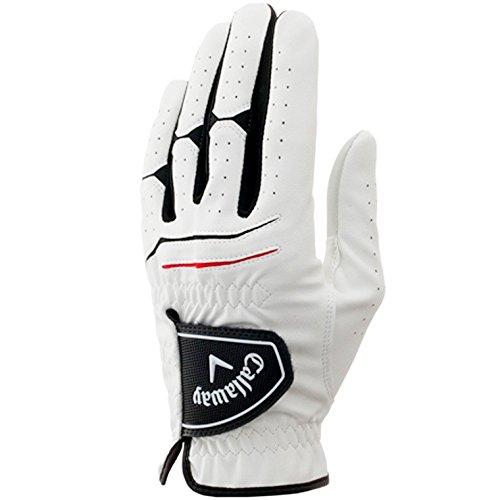Callaway(キャロウェイ) ゴルフグローブ 手袋  WARBIRD ウォーバード  左手用 15 JM ホワイト 24cm 5315016