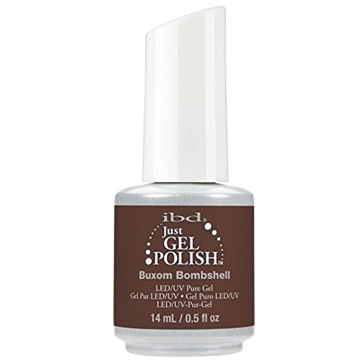 征服するスペル見えるibd Just Gel Nail Polish - 2017 Nude Collection - Buxom Bombshell - 14ml / 0.5oz