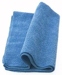 超極細繊維クリーニングクロスw400mm x d300mm t=2mm ブルー・WIPING CLOTH #201 WC201MC
