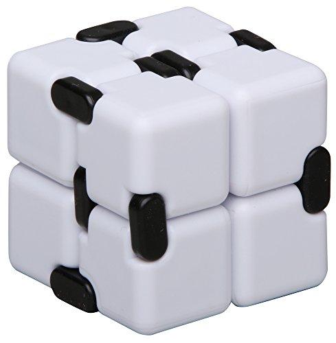 inFIT Fidget Infinity Cube ストレス解消 無限キューブ 任意の方向と角度から回転するフィジェットインフィニティキューブ FIC450WT C.ホワイト/ブラック