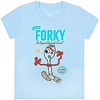 Vanilla Underground Disney Pixar Toy Story Forky Boy's T-Shirt   Official Toy Story 4 Movie Kids Merchandise