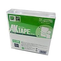 AKテープ粘着付100組白 AK-01 25X25MM アラコー