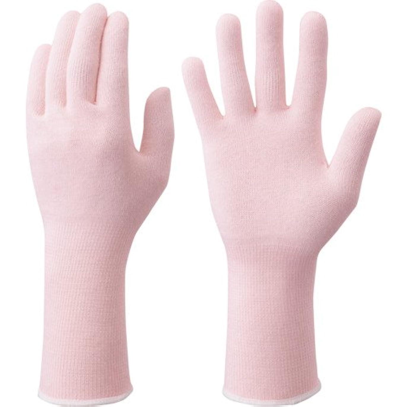 のためチップ確実手肌をいたわる手袋フリーピンク