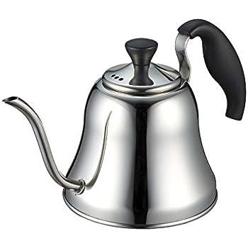 パール金属 コーヒー ドリップ ポット 1.1L IH対応 ステンレス バリスタ H-996