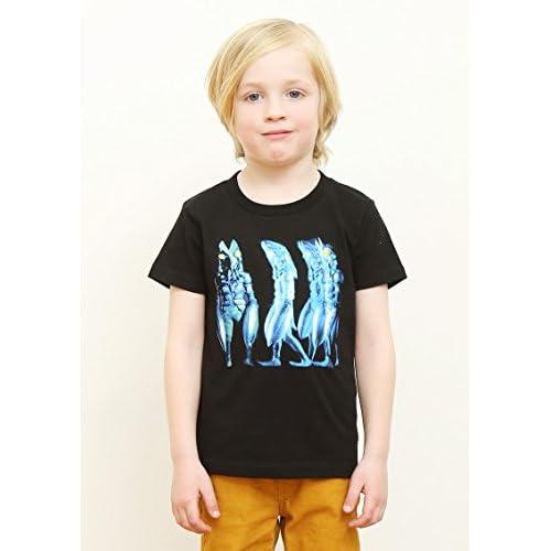 (グラニフ)graniph コラボレーションキッズ Tシャツ / バルタン星人 ( ウルトラマンシリーズ ) ( ブラック ) 100