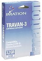 Imation 1.6GB tr3カートリッジfor Travan and qic-30201パック