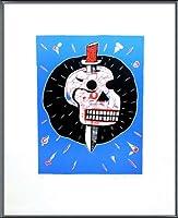 ポスター バルディビア ENTROPIE IV 限定75枚 サイン ナンバリング入 額装品 アルミ製ベーシックフレーム(ブラック)
