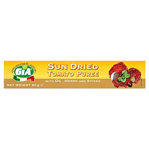 Gia Sun Dried Tomato Puree (80g) Giaの太陽の乾燥したトマトピューレ( 80グラム)